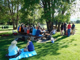 PIZZA PARTY & PICNIC - JULY 2016