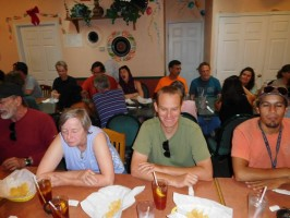 WELCOME DINNER - JULY 2016